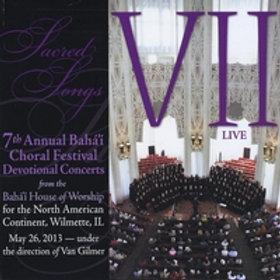 7th Annual Baha'i Choral Festival Devotional Concert - CD