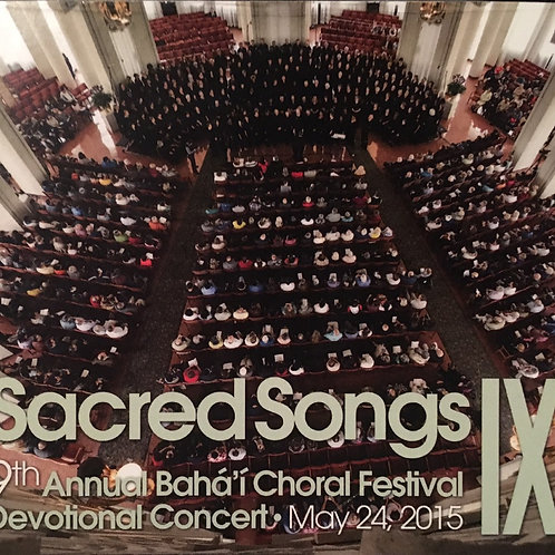 9th Annual Baha'i Choral Festival Devotional Concert - CD