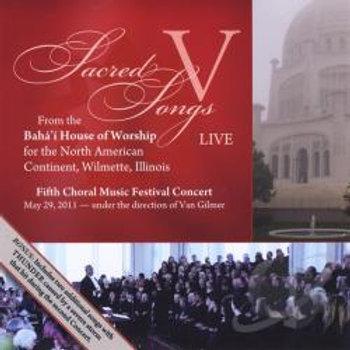 5th Annual Baha'i Choral Festival Devotional Concert - CD