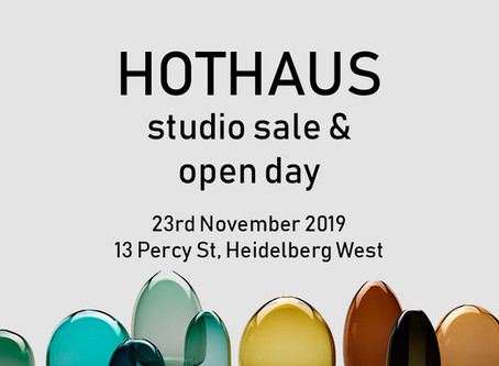 Hothaus Open Day and Studio Sale