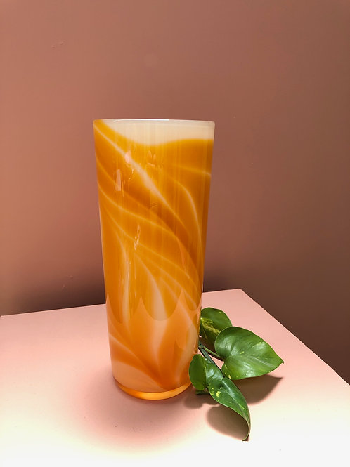 Foliage Vase in Marmalade