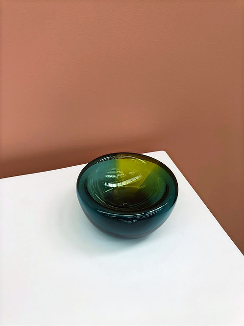 Two tone Saucy Bowl in Jade/Citron