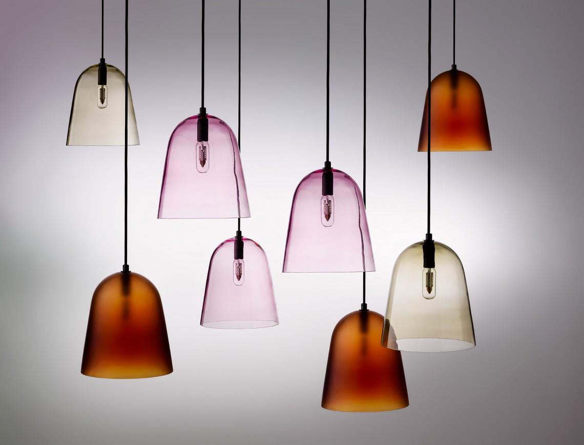 Softscape pendant light designed by Helen Kontouris for LEN furniture.
