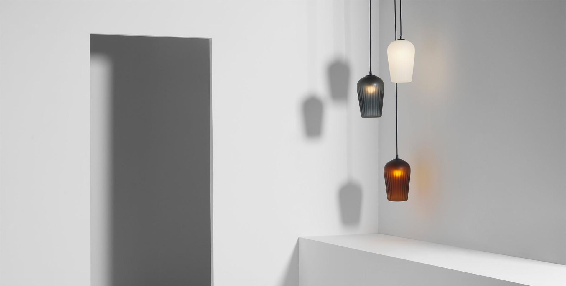 No.10 Pendant Light designed by Luke Mills for Lumil.