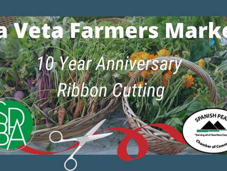 The Chamber of Commerce and Business Alliance to Celebrate the La Veta Farmer's Market
