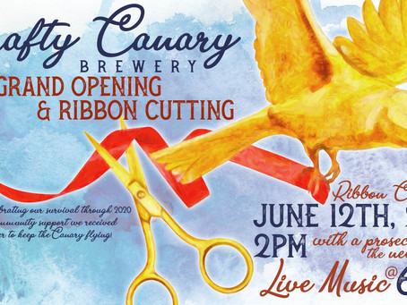 The Chamber of Commerce and Business Alliance to celebrate new ownership, and new patio at Crafty