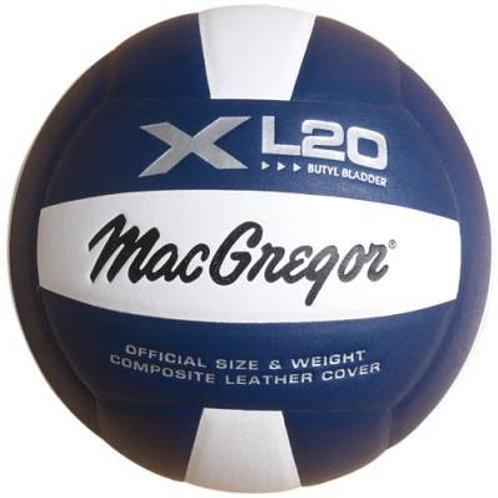*MacGregor® XL20 Composite Indoor Volleyball SKU# MCVL20WH