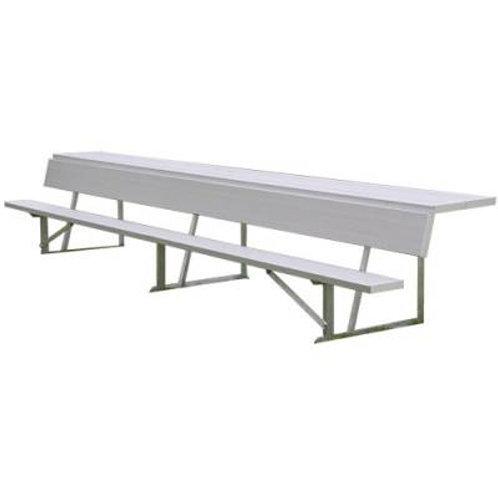 Player's Bench with Shelf 15'L SKU# BEPS15