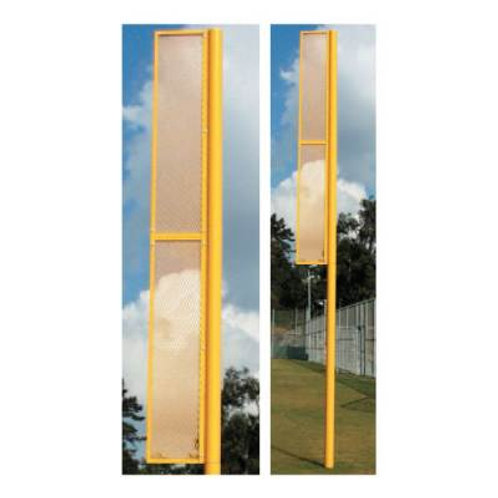 """*Ground Sleeves for 3 1/2"""" OD Foul Poles 36"""" Pair SKU# 1255287"""
