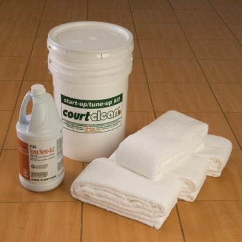 *CourtClean 8' Start-Up / Tune-Up Kit SKU# 1237566