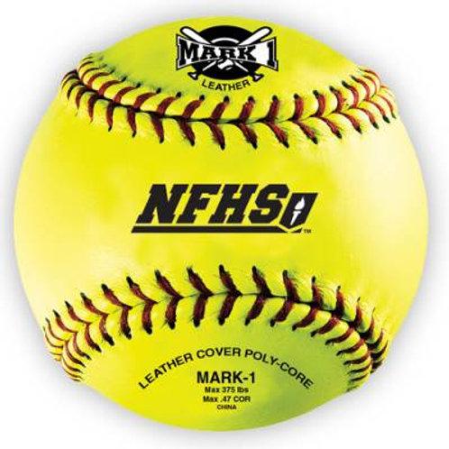 "*Mark 1™12"" NFHS Softballs (12-Pack) Dzn.SKU# BSOSB"