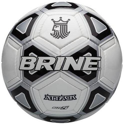 Brine® Attack Size 5 Soccer Ball SKU# 1378536