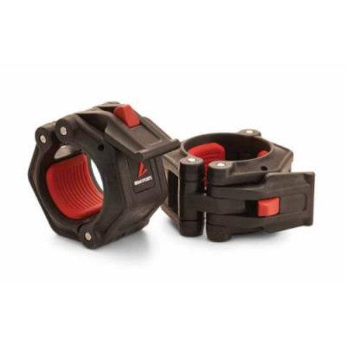 Lock-Jaw PRO 2 Barbell Collar - Black Pair SKU# 1395572