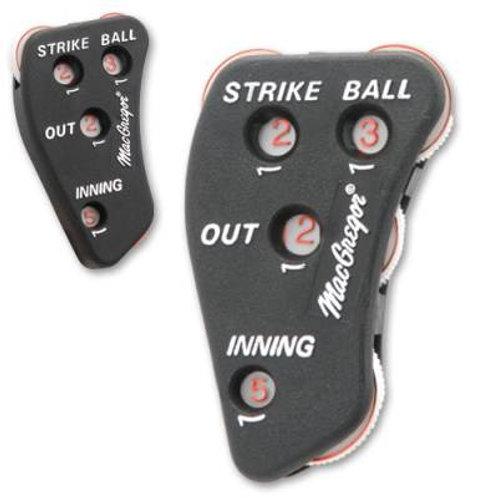 *MacGregor® 4-Way Umpire's Indicator SKU# BBUMPIN4
