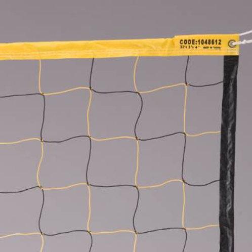 Economy Yel/Blk Volleyball Net SKU# 1048612