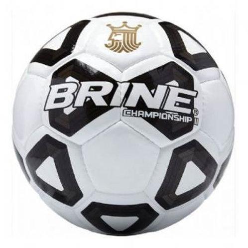 Brine Championship II Soccer Ball Size 5-White/Black SKU# 1395098