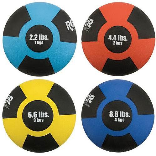*Champion Barbell Rubber Medicine Balls sets SKU# 1271447