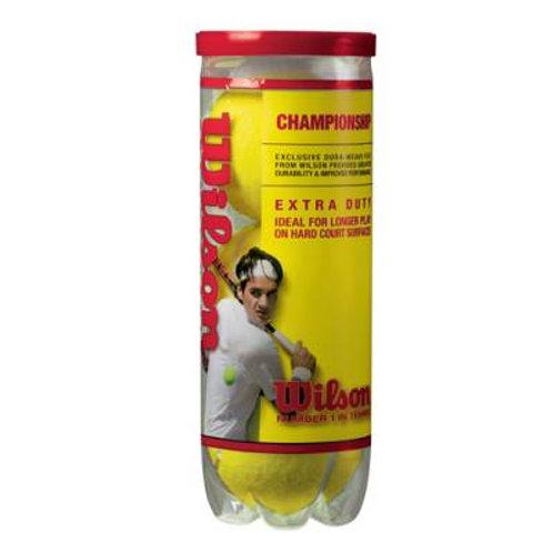 *Wilson Championship Tennis Balls - Case