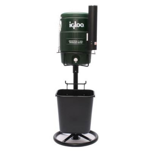 Tidi-Cooler Stand Set Black Stand with Green Cooler SKU# 1263244