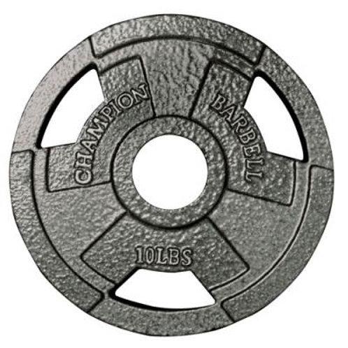 *Champion Barbell Olympic Grip Plates SKU# 1272499
