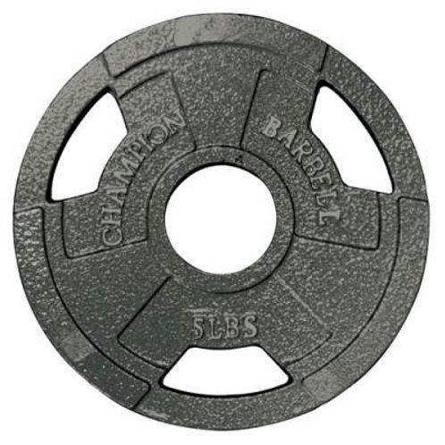 *Champion Barbell Olympic Grip Plates SKU# 1272482