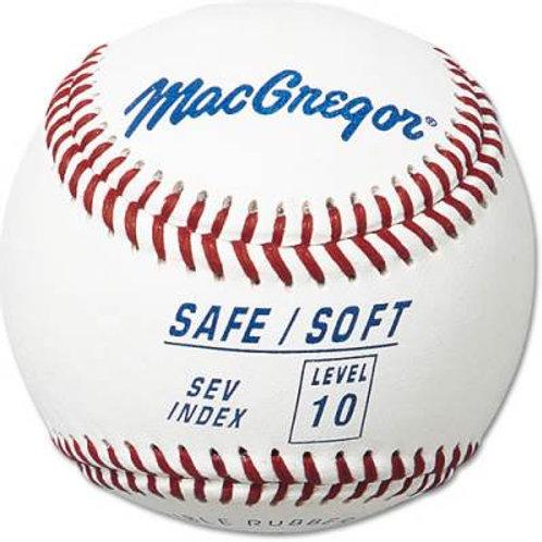 *MacGregor Safe/Soft Baseball level 10 Dzn.SKU# MCB5SV10