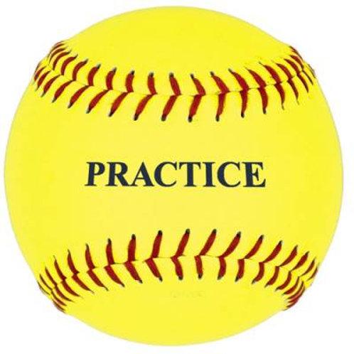 *12'' Yellow Practice Softball Dzn.SKU# 5PSBY12