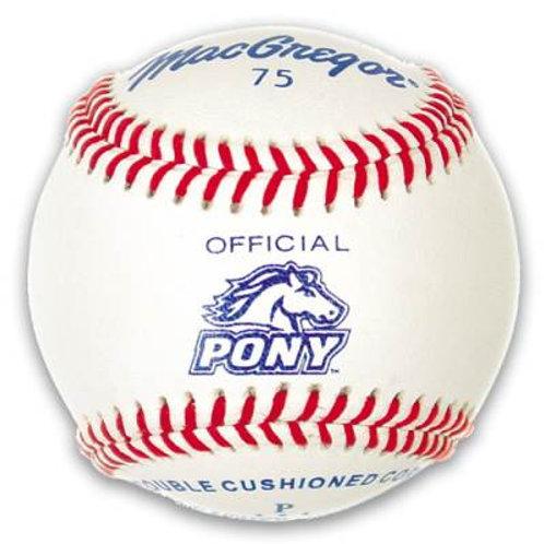 *MacGregor #75 Official Pony® League Dzn.SKU# MCB75CXX