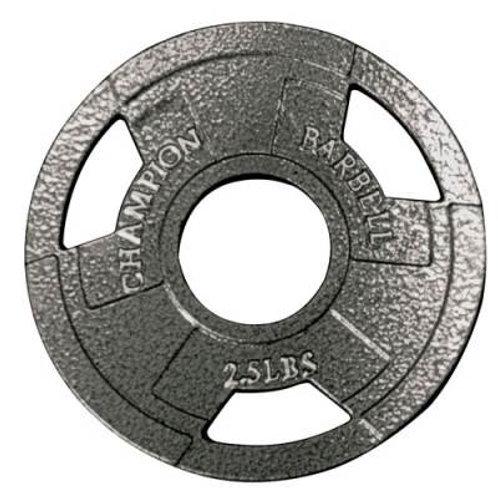 *Champion Barbell Olympic Grip Plates SKU# 1272475