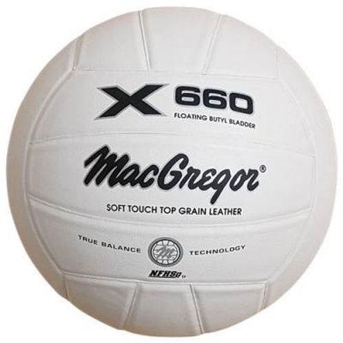 *MacGregor X660 Soft Touch Volleyball SKU# MCV660WH