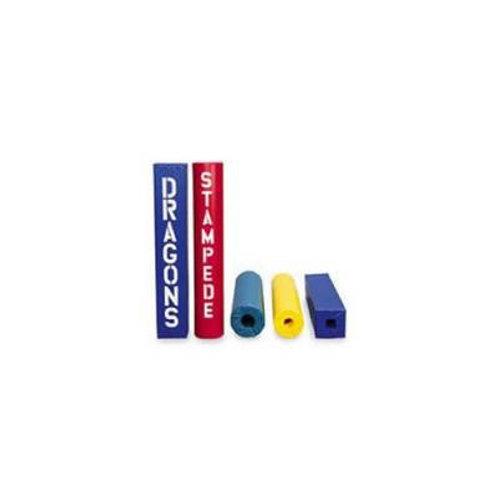 """*Post Pad Fits 5""""-6-1/2"""" OD Post Red/Blue SKU# 1012477"""