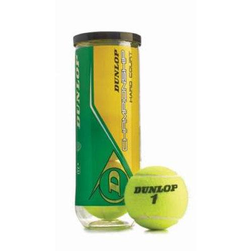 *Dunlop® Championship Hard Court Tennis Balls