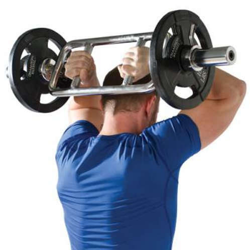 *Champion Barbell Chrome Olympic-Style Tricep SKU# CHTRICOL