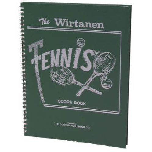 Wirtanen Tennis Scorebook SKU# 1303254