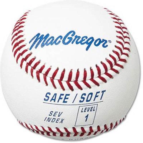 *MacGregor Safe/Soft Baseball Level 1 Dzn.SKU# MCB5SV01