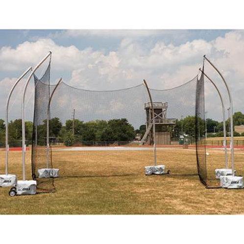 Gill High School Portable Discus Cage Net SKU# GAM2055