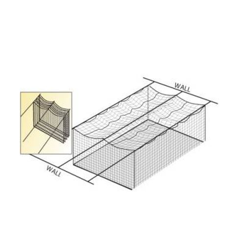 *Wall To Wall Cage Net Suspension Kit SKU# 1236637