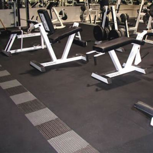 RB Rubber Products Athletic Flooring Mats Each4'W x 6'L x 1/2'' SKU# CHMTF1/2