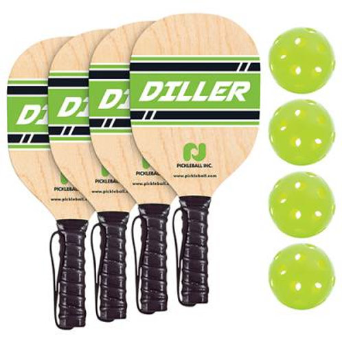 Pickle Ball Diller Paddle & Ball Pack SKU# 1450227
