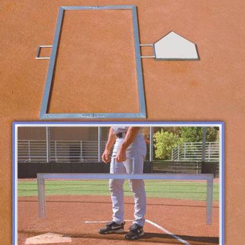 """*Foldable Batter's Box Templates 4""""x6"""""""
