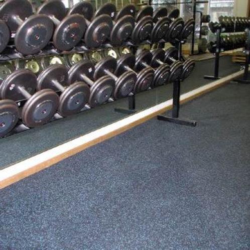 """RB Rubber Products Sport Roll Flooring 4'W x 50'L x 3/8""""SKU# 1379866"""