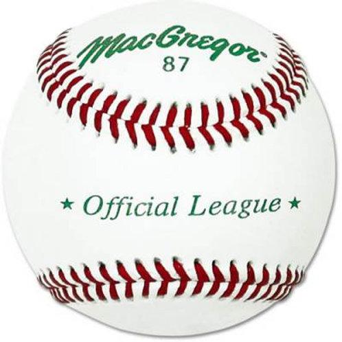 *MacGregor #87SP Official League Dzn .SKU# MCB87SPX