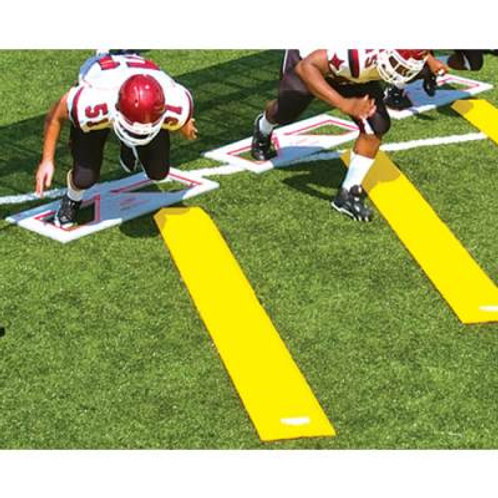 *Fisher Folding Football Training Chute Board SKU# 1291803