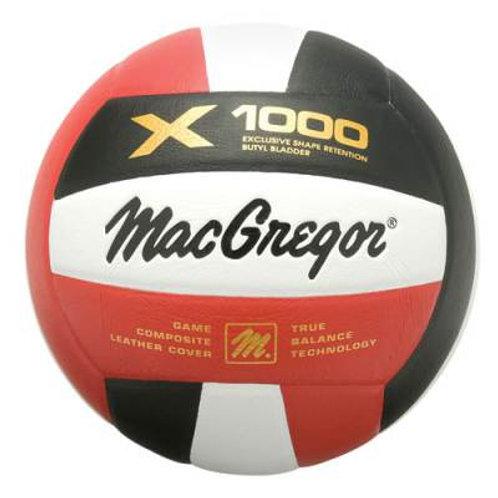 *MacGregor® X1000 Indoor/Outdoor Volleyball SKU# MCV1000W
