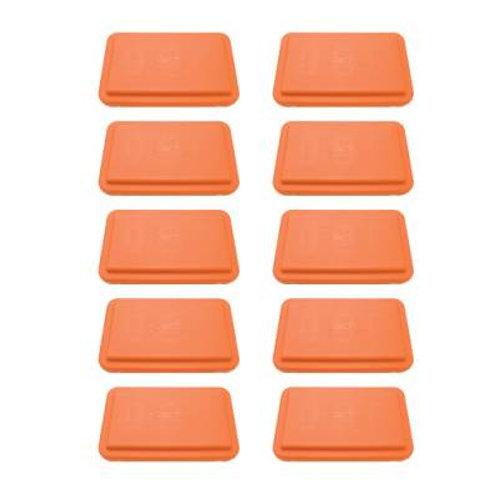 """Fitness Steps Pack of Orange 4"""" Steps SKU# 1292633"""