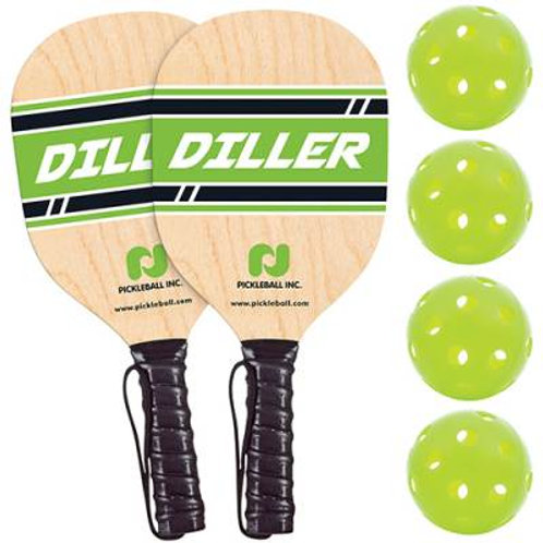 Pickle Ball Diller Paddle & Ball Pack SKU# 1450226