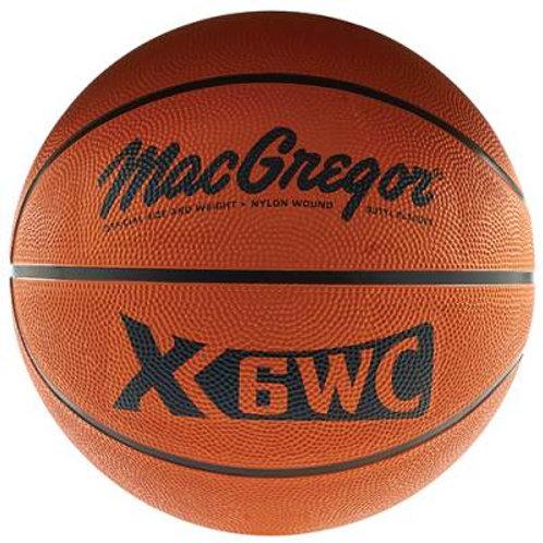 *MacGregor Rubber Basketballs SKU# MCX2500X
