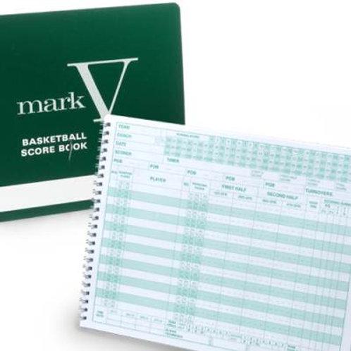 *Mark V Basketball Scorebook SKU# MSMARKBK