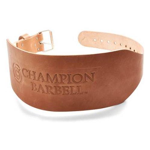 "*Champion Barbell 6"" Wide Tapered Training Belt SKU# CHCTBXLX"