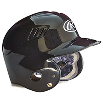 Rawlings Vented Batting HelmetsYouth w/Attached Mask (6 1/2 - 7 1/2) SKU 1383945